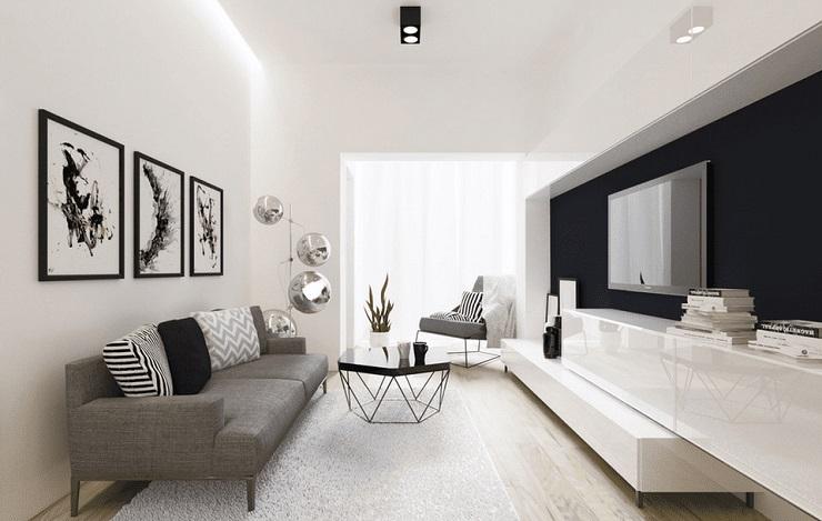 Tend ncias para sala de estar 2018 decorando casas for Plan de la sala de 40m2